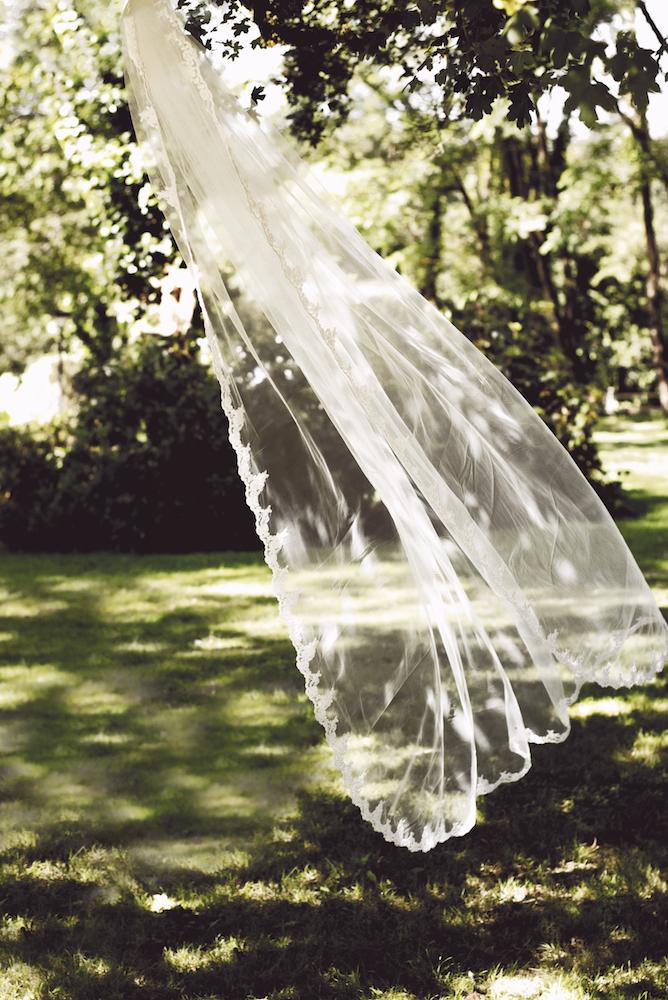 Poirier bruidssluier