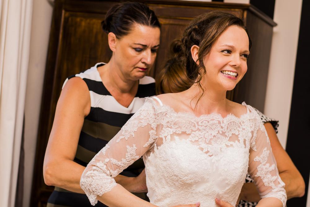bruiloft op La Fragne