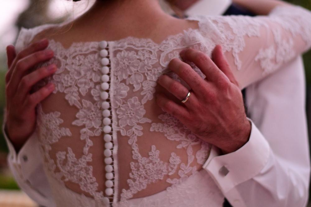 Kanten trouwjurk