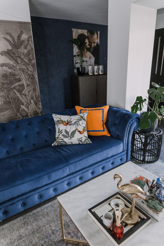 kleuren combineren in je interieur