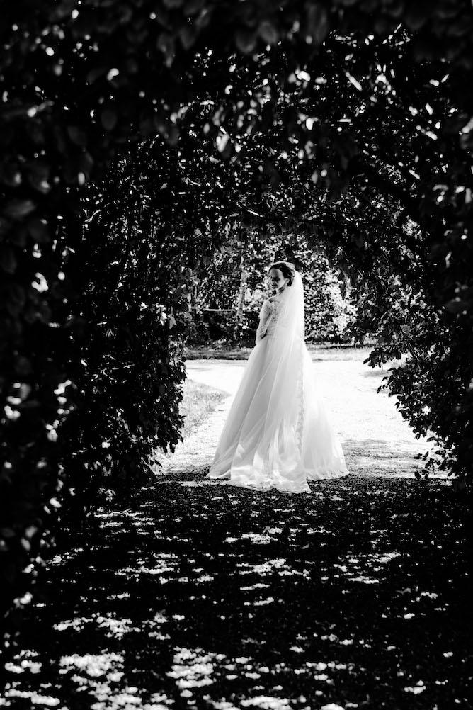 zwart wit trouwfotografie