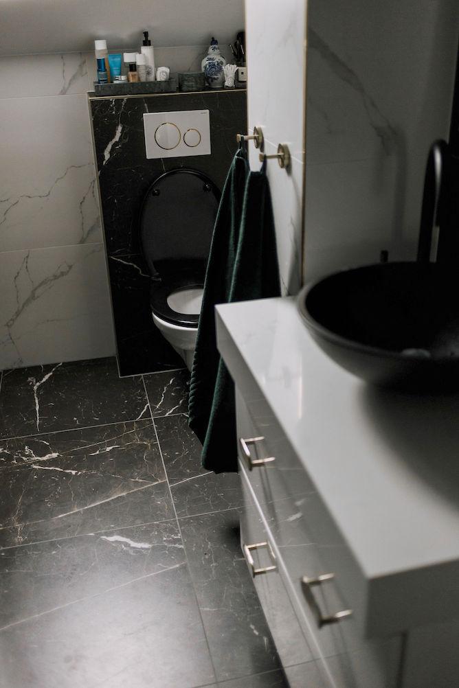 fris ruikende badkamer