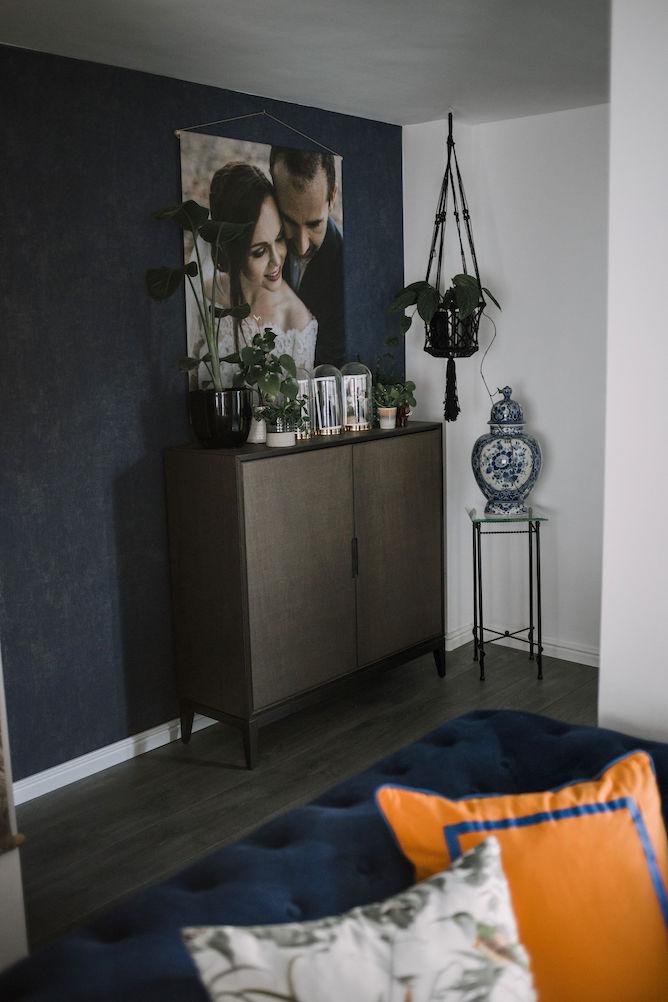 lege muur in huis stylen
