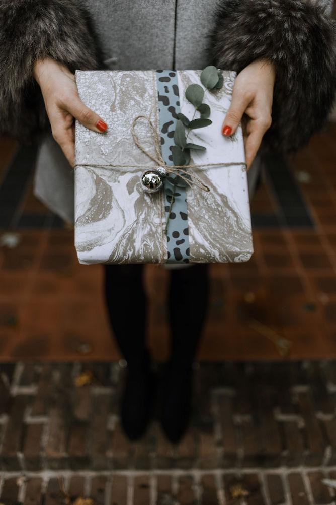 cadeautjes inpakken zonder inpakpapier