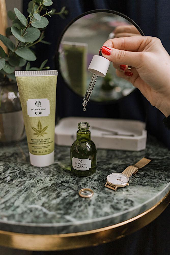 The Body shop CBD Replenishing Face oil