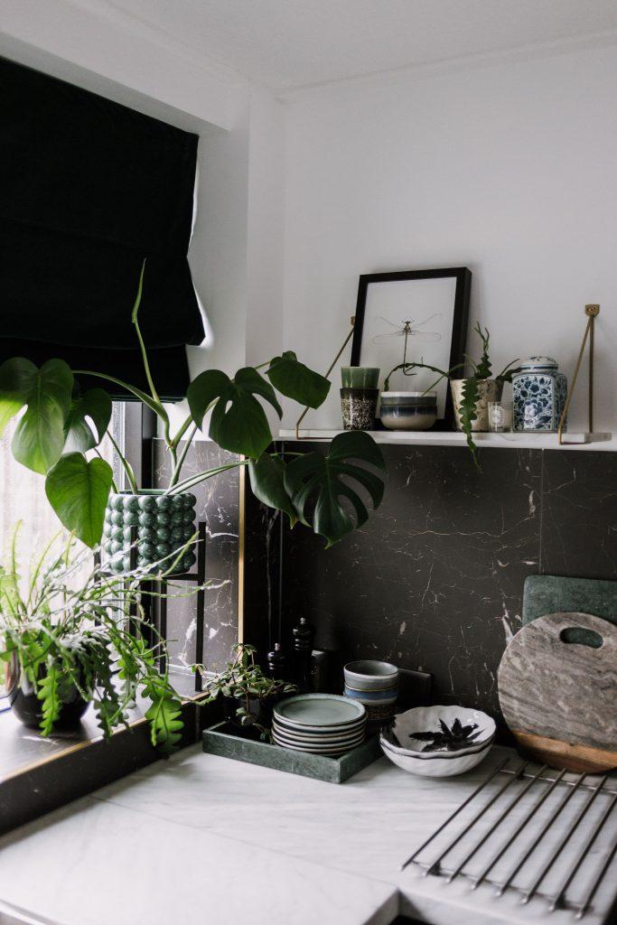 stylen met planten