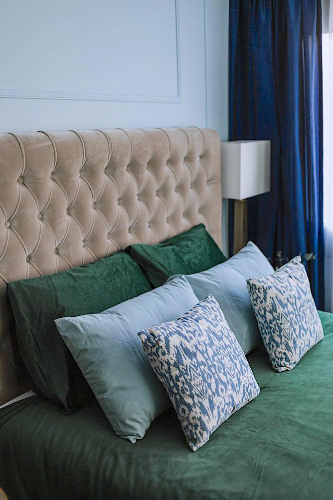 hotel chic slaapkamer