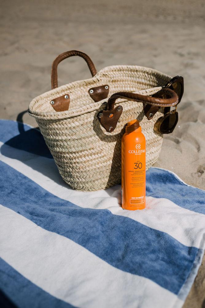 Collistar Moisturizing tanning spray SPF30