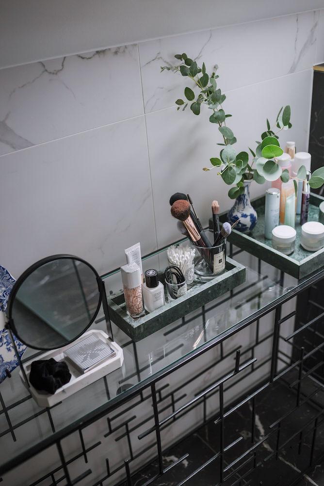 je badkamer opruimen