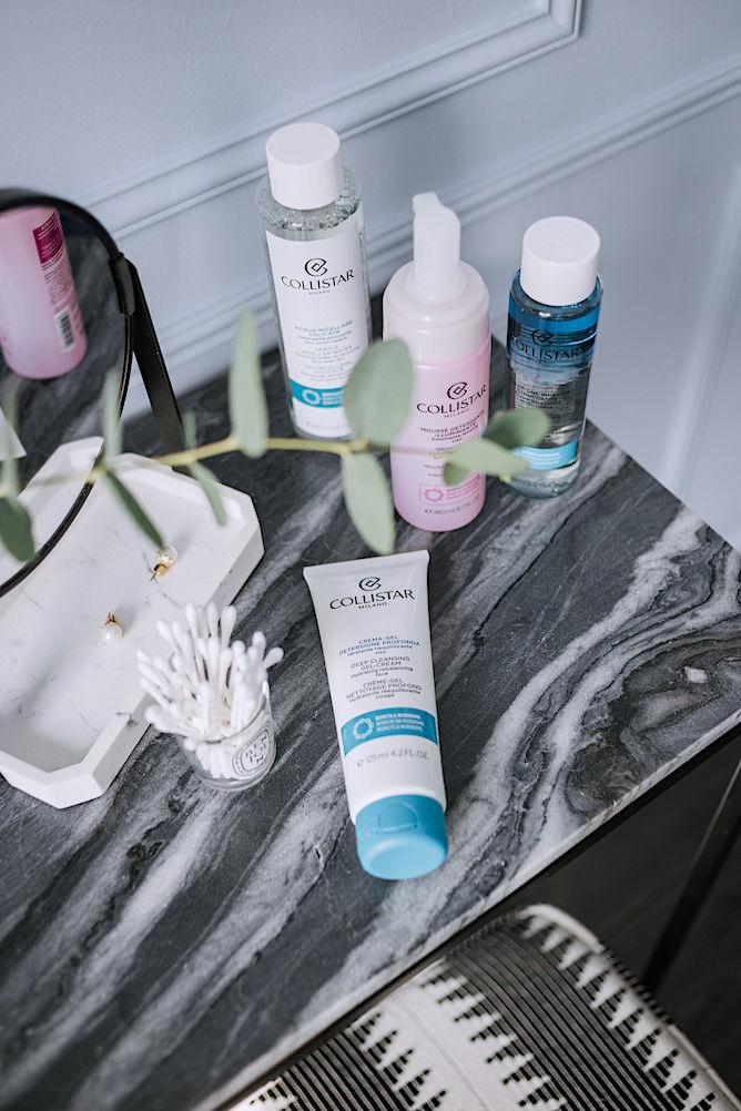 collistar deep cleansing gel cream