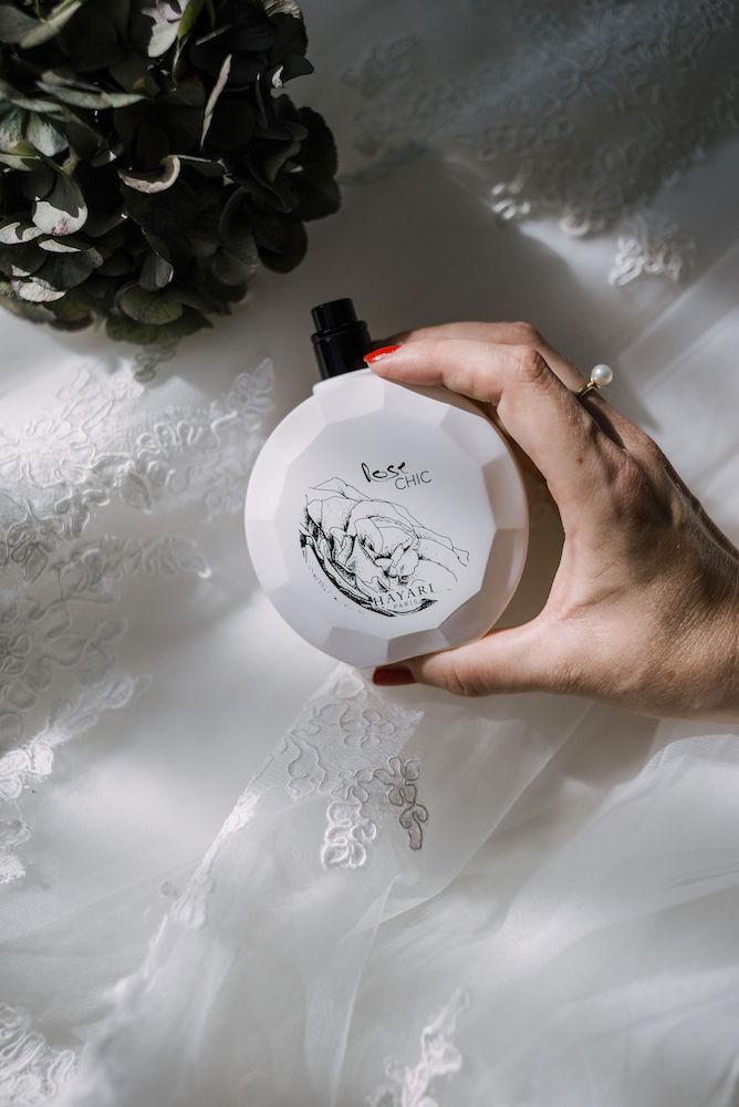 Hayari parfums Paris Rose chic