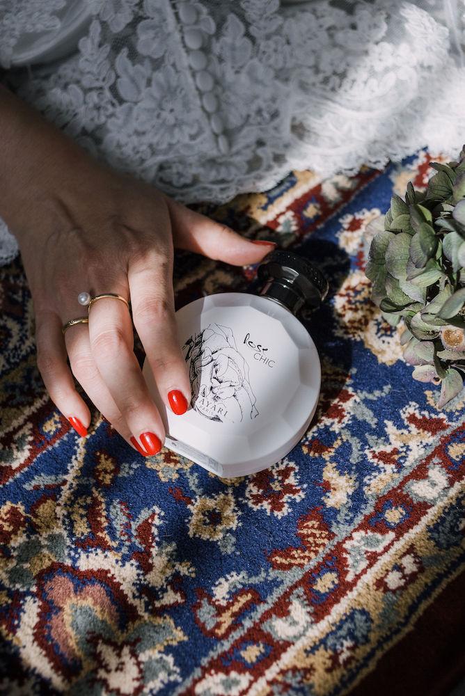 Hayari Rose chic parfum
