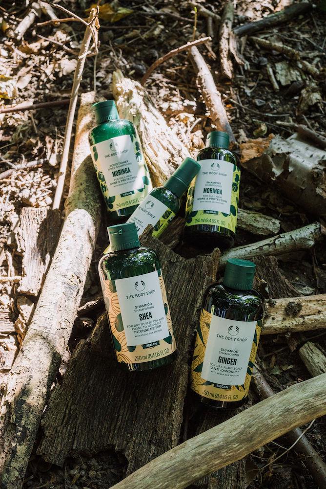 the body shop ginger anti-dandruff shampoo