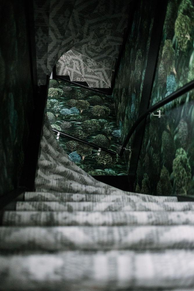 desso ex tapijt op de trap
